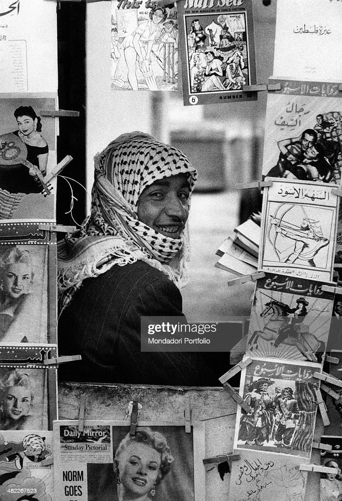 A newsstand in Baghdad : News Photo