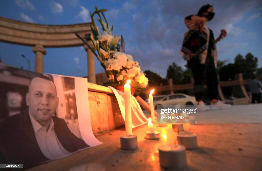 IRAQ-UNREST-KILLING : News Photo