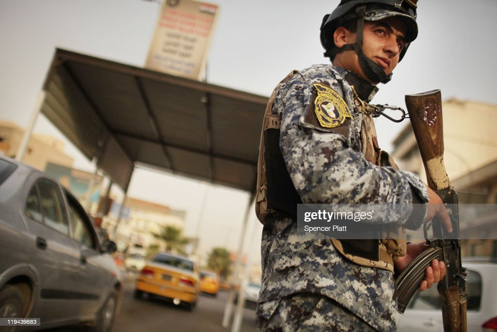With US Troops Poised To Withdraw, Baghdad Enters New Phase : News Photo