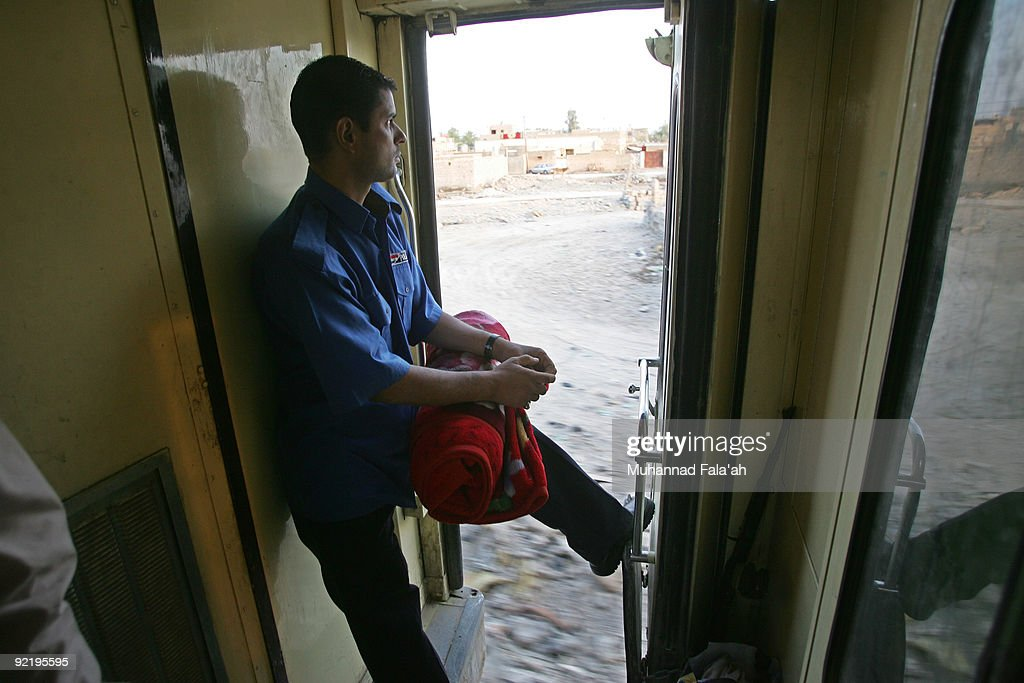 Great Train Journeys - Baghdad To Basra : News Photo