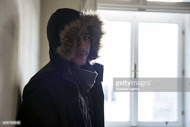 An Iraqi refugee who has worked as a military nurse in Iraq is seen as he waits to be granted an asylum status at the Red Cross shelter in Vienna...