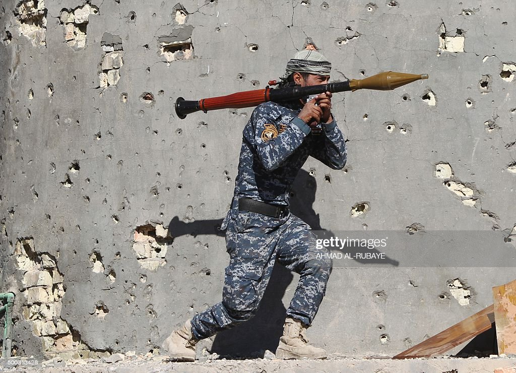 TOPSHOT-IRAQ-CONFLICT : News Photo