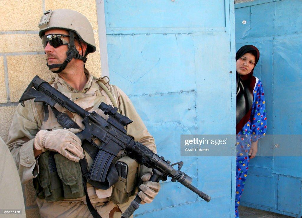 U.S. And Iraqi Troops Attempt Yo Push Out Insurgents In Tall Afar : Nieuwsfoto's