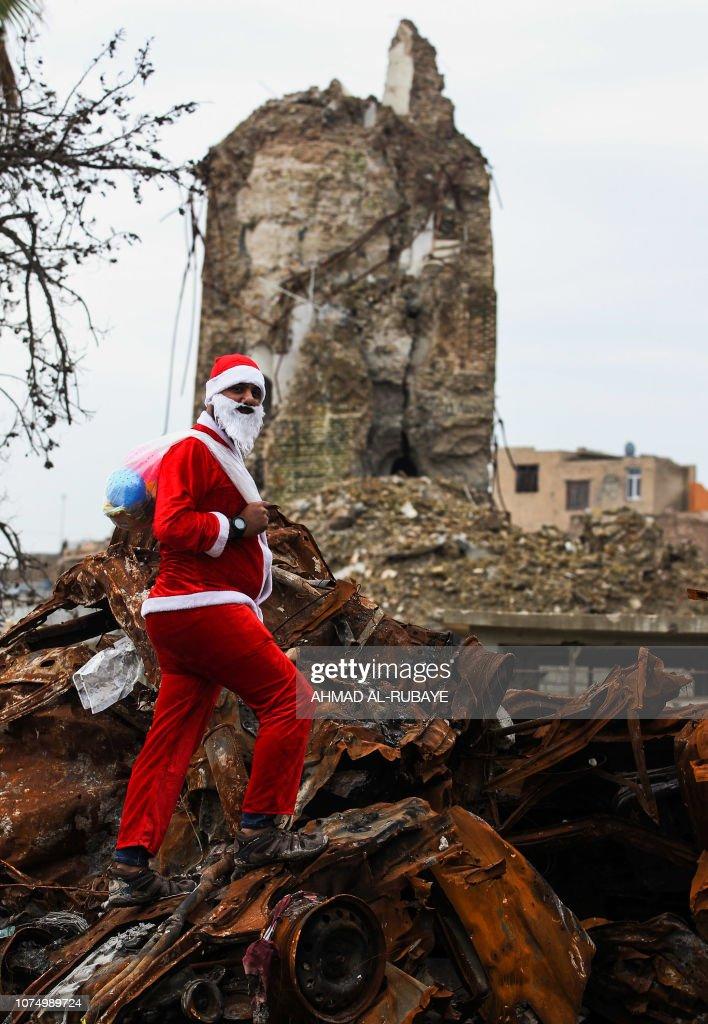 IRAQ-CHRISTMAS : News Photo