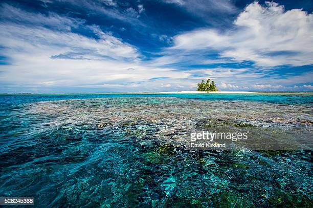 An island that forms part of the marine park, near the Tuvalu mainland; Tuvalu
