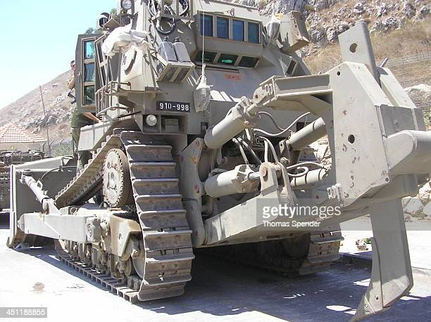 CONTENT] An Israeli Defense Force bulldozer at Metulla on the border with Lebanon during the war against Hezbollah in 2006