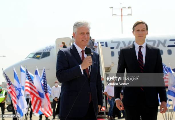 An Israeli delegation led by National Security Advisor Meir Ben-Shabbat, and U.S. National Security Advisor Robert O'Brien and U.S. President Trump's...