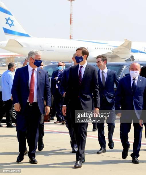 An Israeli delegation led by National Security Advisor Meir Ben-Shabbat , and U.S. National Security Advisor Robert O'Brien and U.S. President...