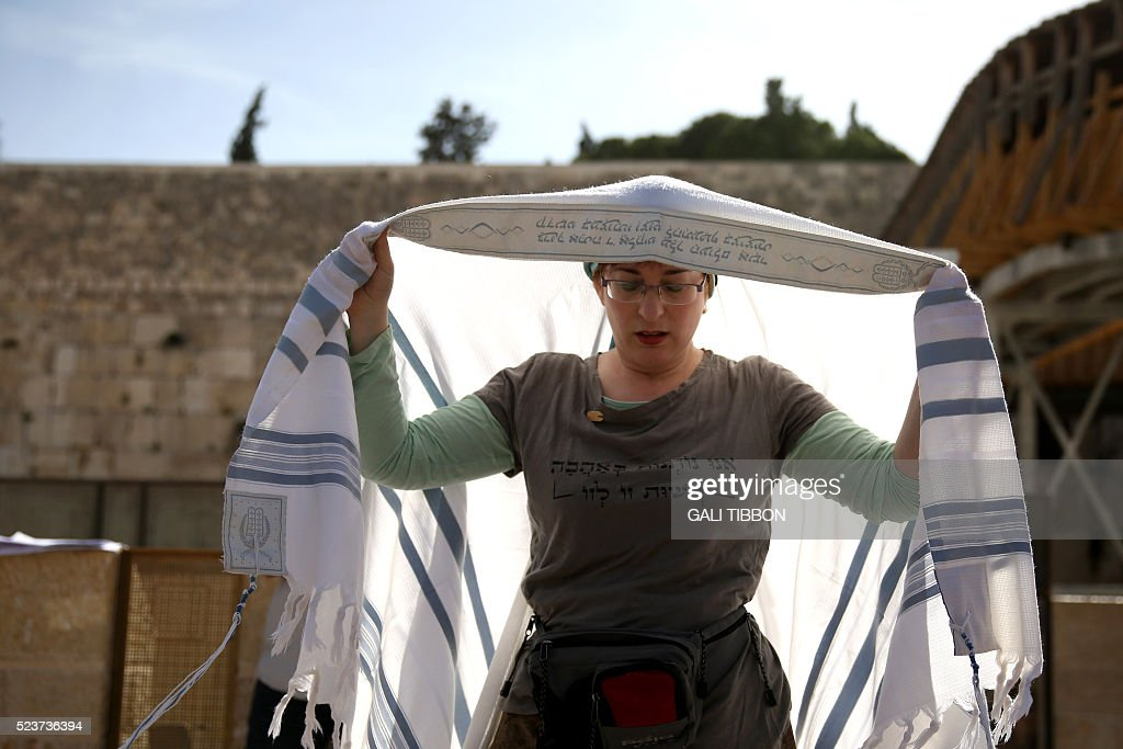 ISRAEL-RELIGION-JUDAISM-WOMEN-OF-THE-WALL : Fotografia de notícias
