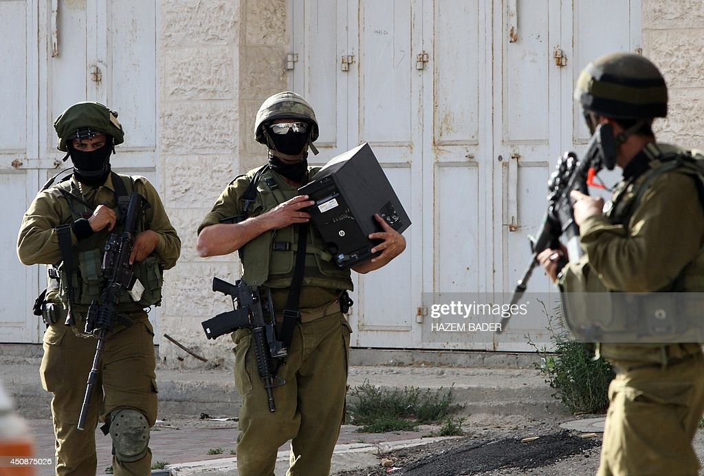 PALESTINIAN-ISRAEL-CONFLICT-KIDNAP : News Photo