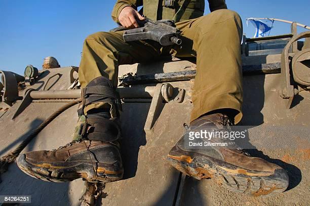 Israeli Combat Boots Stock Fotos Und Bilder