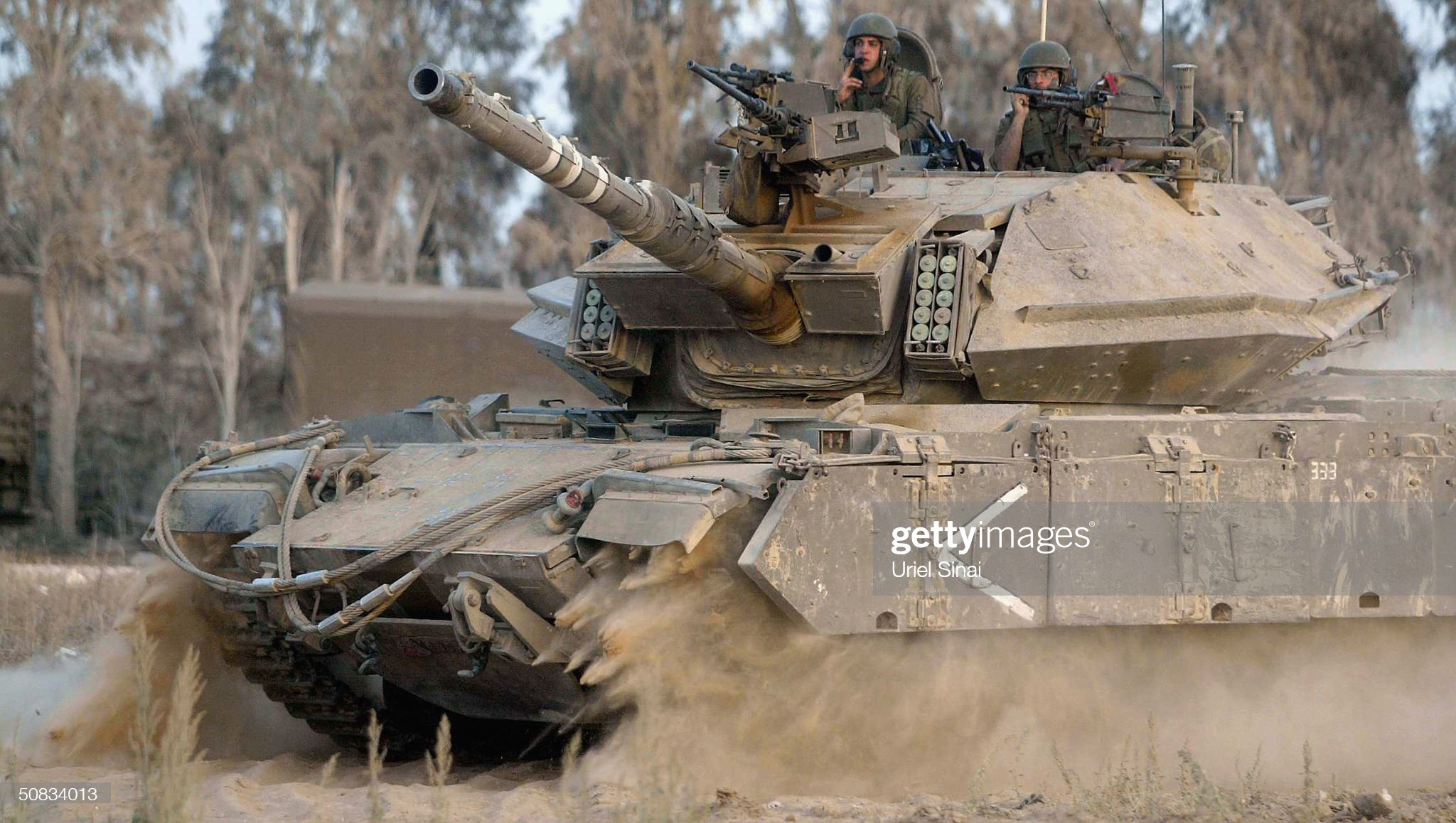 https://media.gettyimages.com/photos/an-israeli-soldier-prepares-merkeva-tanks-on-may-13-2004-at-the-suffa-picture-id50834013?s=2048x2048