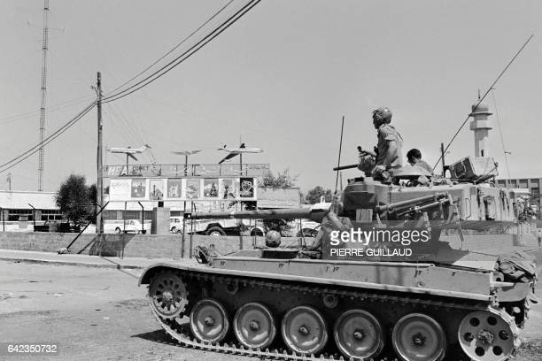 An Israeli tank patrols near a mosquee in June 1967 in East Jerusalem during the sixday war On 05 June 1967 Israel launched preemptive attacks...