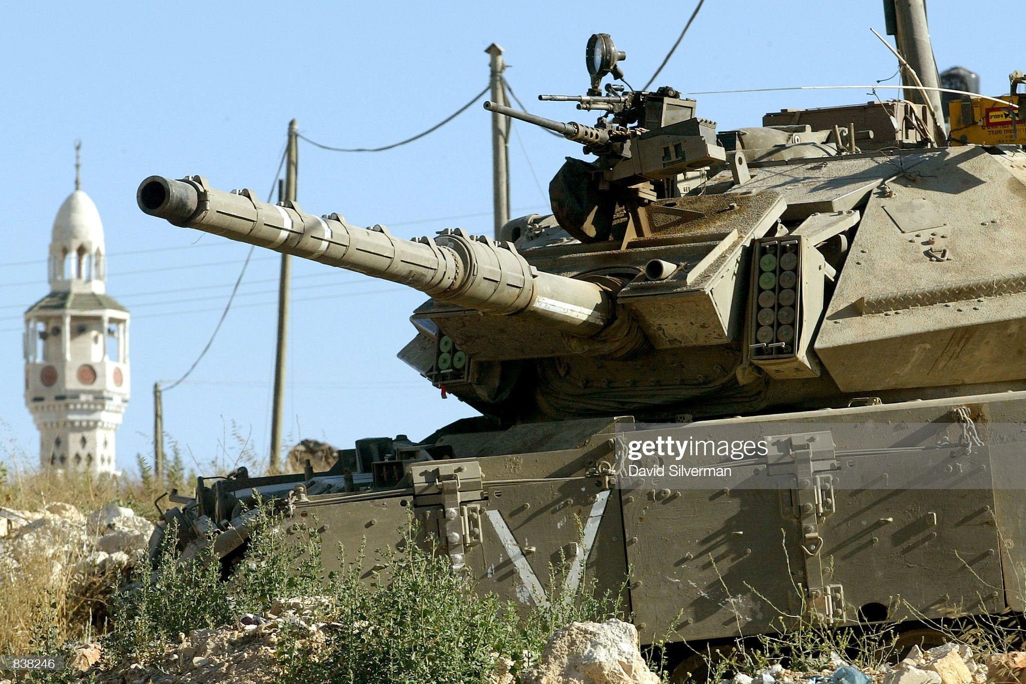 https://media.gettyimages.com/photos/an-israeli-tank-stands-guard-near-the-al-amari-refugee-camp-june-24-picture-id838246?s=2048x2048