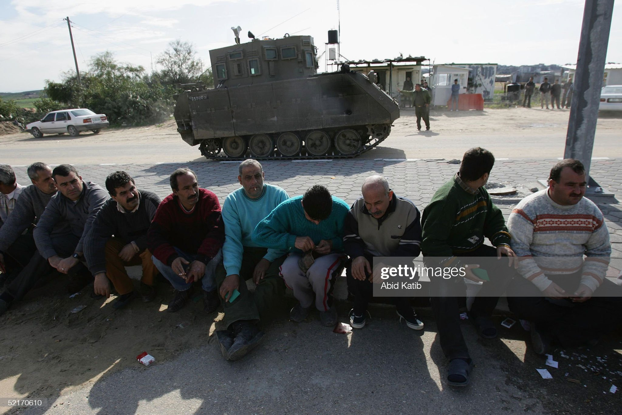 https://media.gettyimages.com/photos/an-israeli-tank-stands-guard-on-salah-aldeen-main-road-as-palestinian-picture-id52170610?s=2048x2048