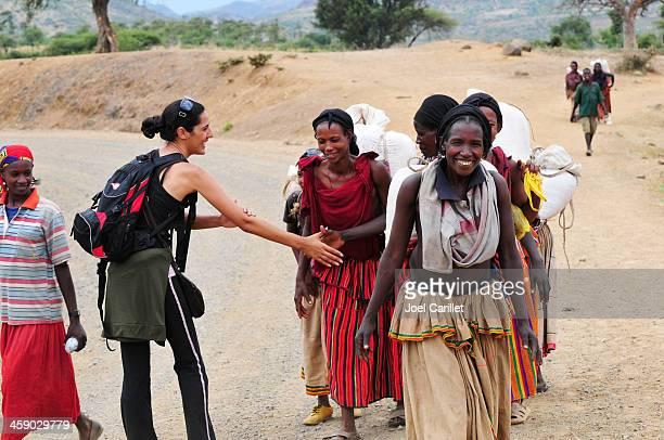 エチオピア文化的背景の旅行 - エチオピア ストックフォトと画像