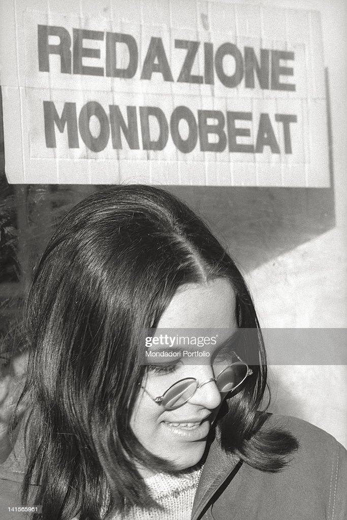 Beatnik With Glasses : News Photo