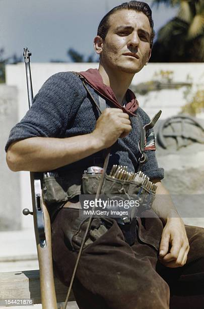 An Italian Partisan In Florence 14 August 1944 Senor Prigile an Italian partisan in Florence British troops were ordered to avoid fighting the...
