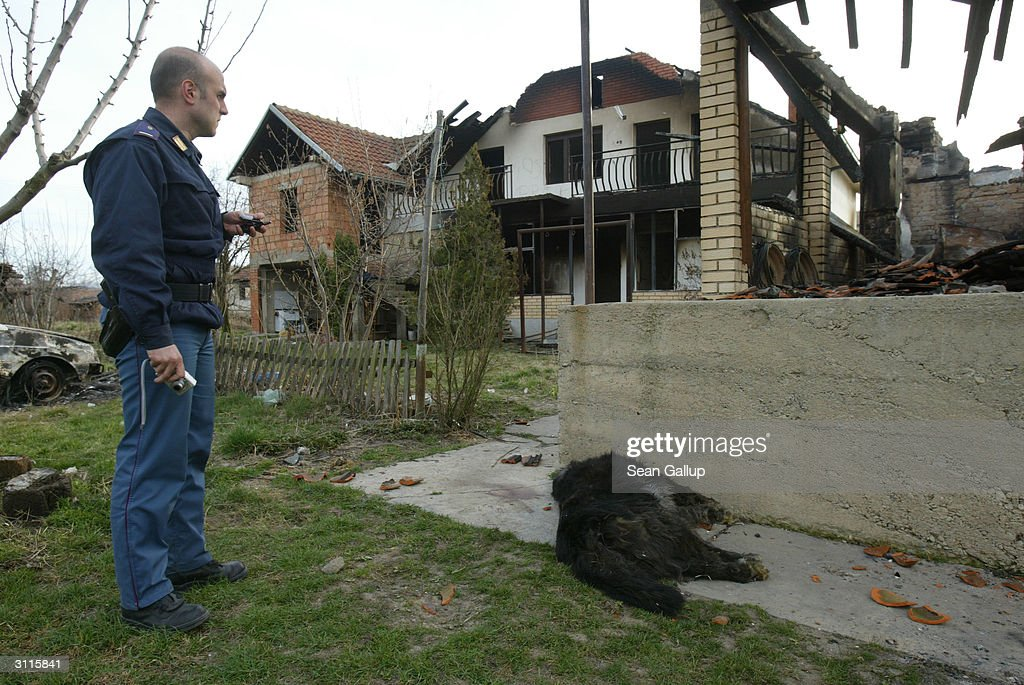 Kosovo Mostly Calm After Days of Violence : News Photo
