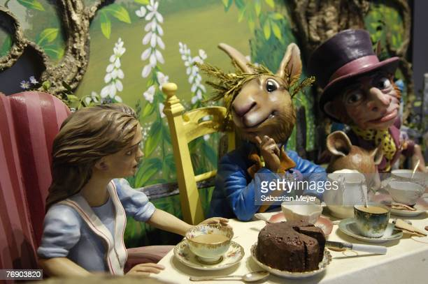 An item offered for sale by auction at Bonhams, from the Fortnum & Mason store, is pictured on September 20, 2007 in London. The sale, including old...