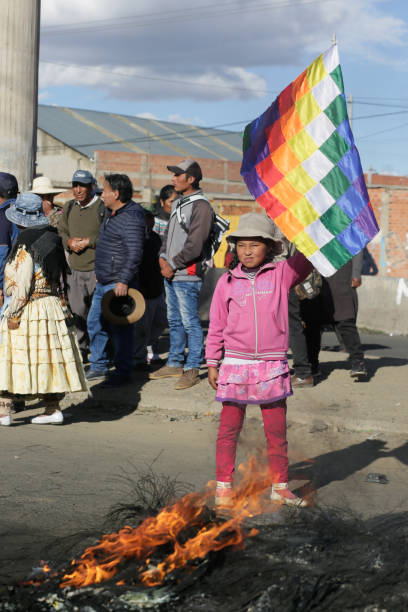 BOL: Supporters of Evo Morales Block An Oil Refinery To Protest Against Newly Interim President Of Bolivia