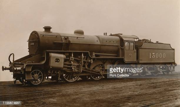 An LMS Mixed Traffic Locomotive' circa 1930s London Midland Scottish Railway steam locomotive and tender Postcard [The Locomotive Publishing Co...