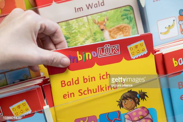 ILLUSTRATION An LUK learning aid produced by the Westermann publishing group in its headquarters in Braunschweig Germany 30 March 2017 The acronym of...