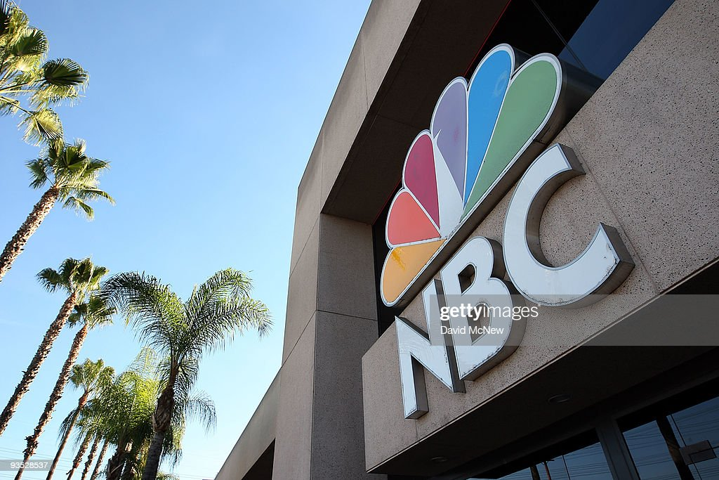 An NBC sign stands at the NBC studios on December 1, 2009 in Burbank, California. A tentative agreement has been reached to sell Vivendis 20 percent stake in NBC Universal to General Electric (GE) for about $5.8 billion. Analysts expect GE, the primary owner of NBC for more than two decades, to sell its ownership interest to Comcast.