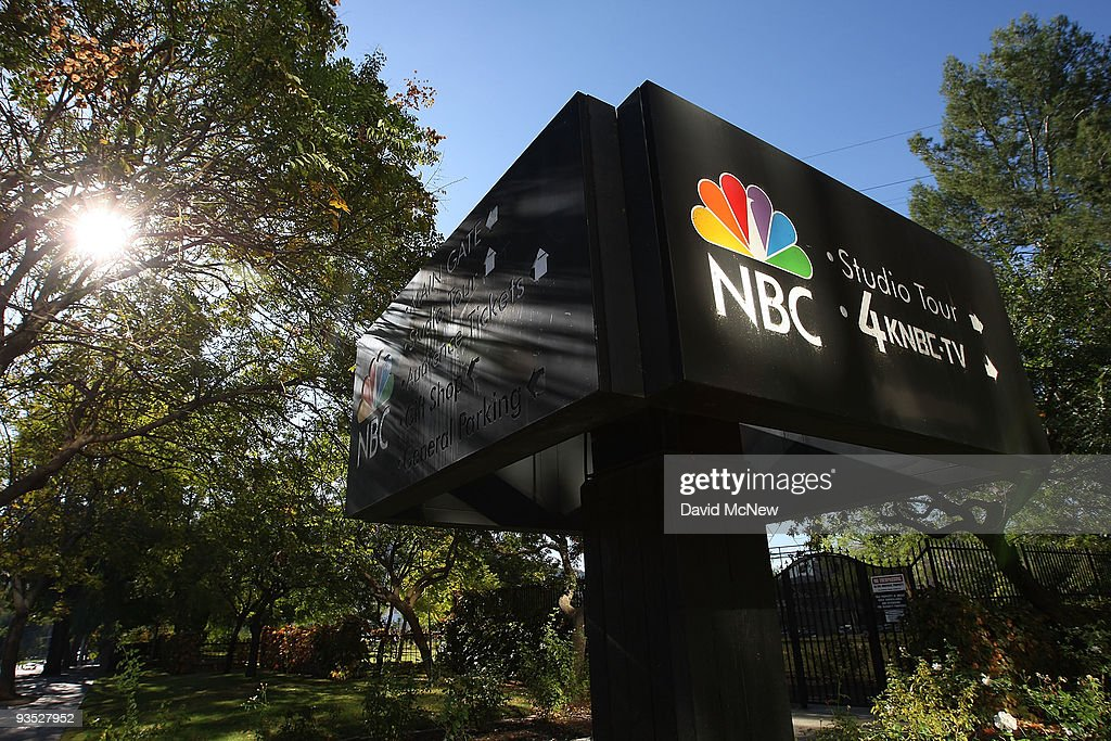 An NBC sign stands near the NBC studios on December 1, 2009 in Burbank, California. A tentative agreement has been reached to sell VivendiÕs 20 percent stake in NBC Universal to General Electric (GE) for about $5.8 billion. Analysts expect GE, the primary owner of NBC for more than two decades, to sell its ownership interest to Comcast.