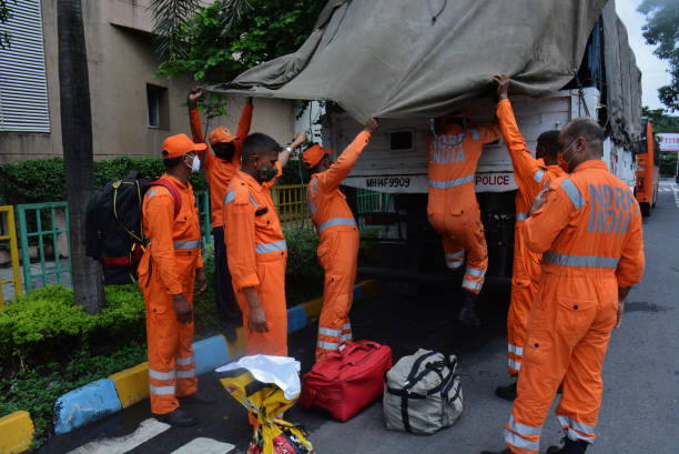 IND: NDRF Team Deployed As A Precautionary Measure After The Weather Department Warned Of Heavy rains in Maharashtra
