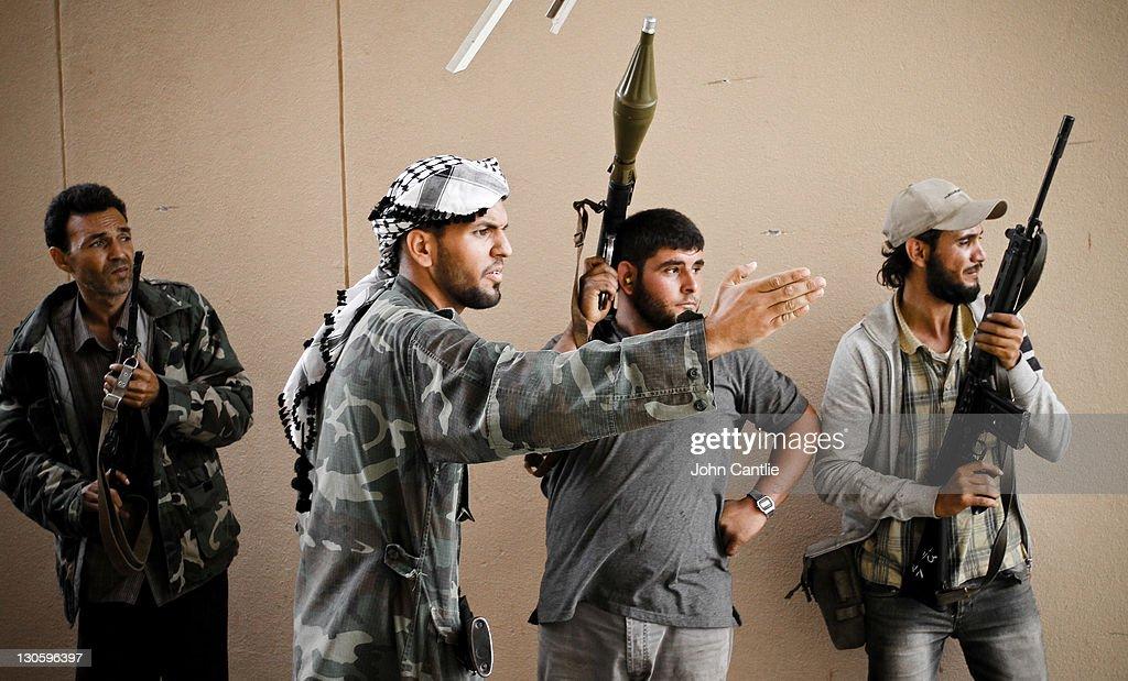 The Battle For Sirte : News Photo