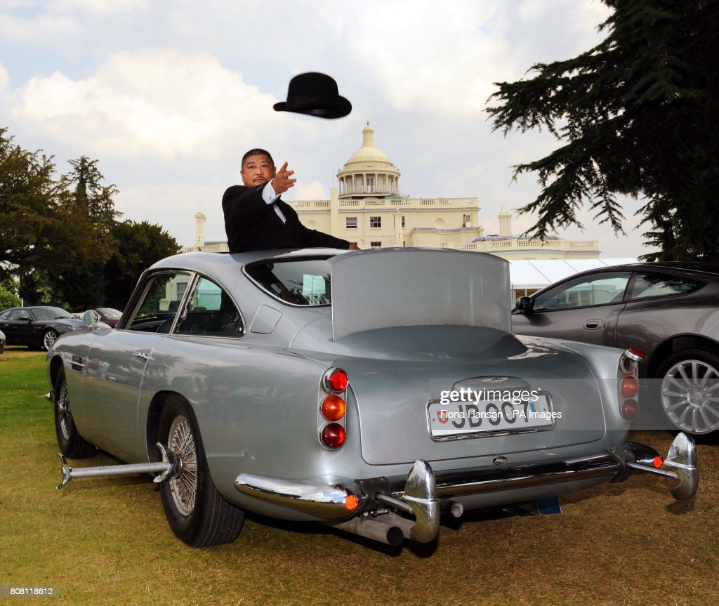 bond aston martin on show ahead of auction pictures | getty images