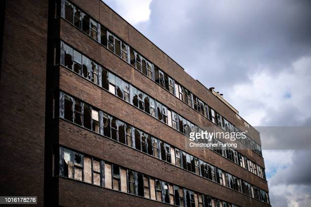 An office building lays derelict in the centre of town in the Black Country which was among the 29 out of 30 West Midlands voting areas to back the...