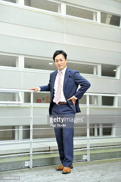 An office worker's portrait
