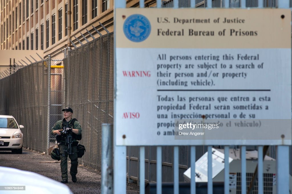 Bomb Threat Shuts Down Metropolitan Correction Center After Weekend Protests : News Photo