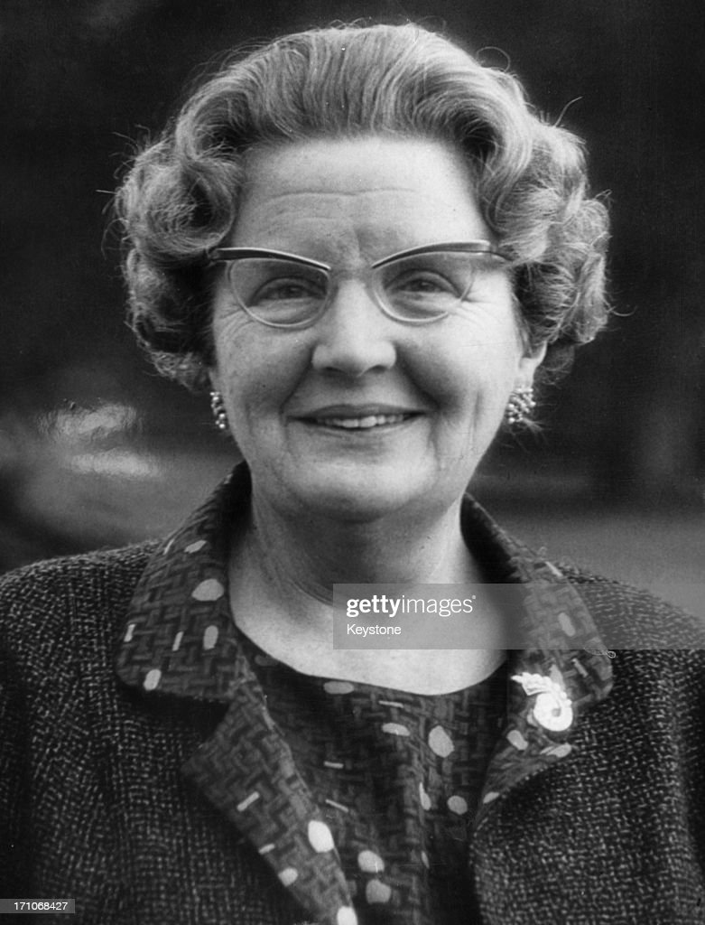 An official birthday portrait of Queen Juliana of the Netherlands (1909 - 2004) taken four days before her 58th birthday, 26th April 1967.