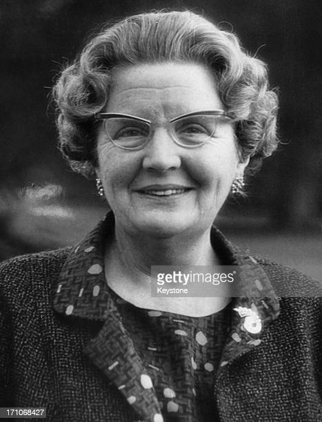 An official birthday portrait of Queen Juliana of the Netherlands taken four days before her 58th birthday, 26th April 1967.