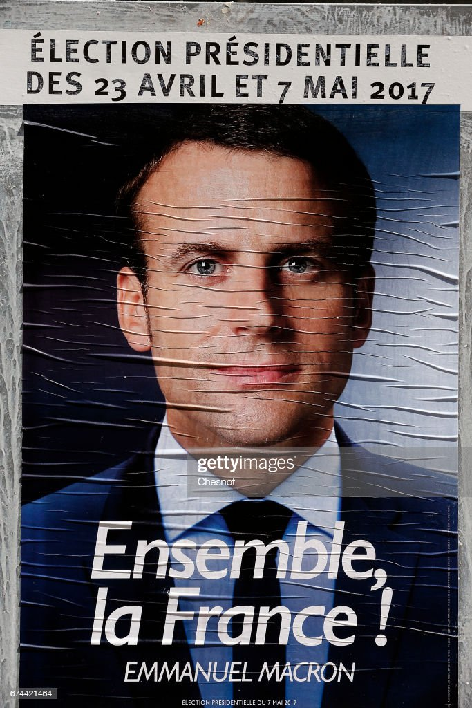 An Official Campaign Poster Of French Presidential Election Candidate News Photo Getty Images