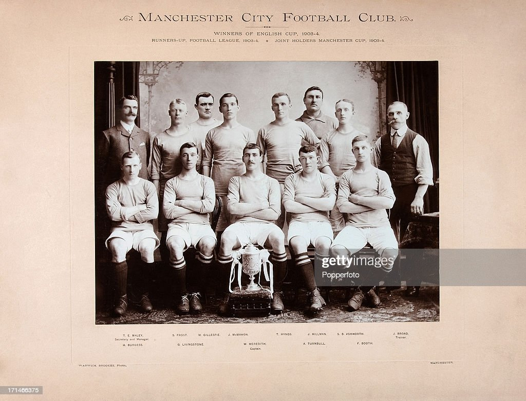Manchester City  -  FA Cup Winners : News Photo