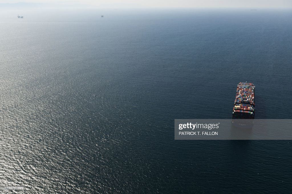 US-ENVIRONMENT-POLLUTION-OIL : News Photo