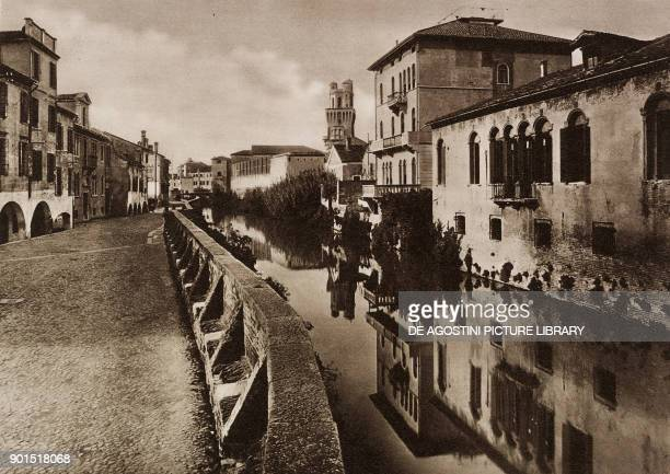 An old bank toward the astronomical observatory Padua Italy photo from L'illustrazione Italiana year LX n 45 November 5 1933