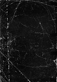 An old black paper texture background