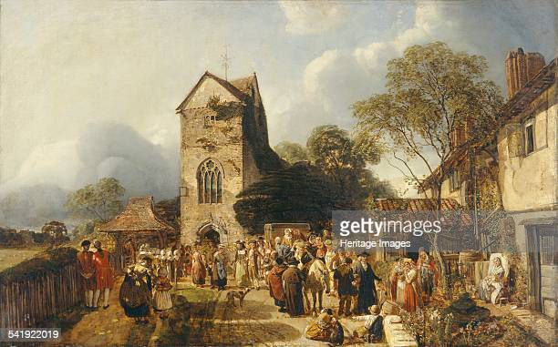 An Old Country Churchyard', 1837-1886. Artist: Henry Mark Anthony