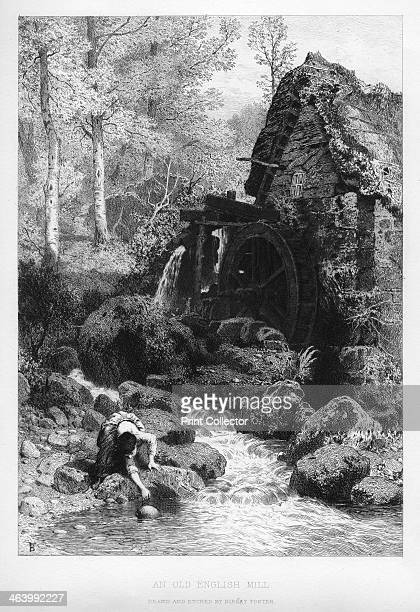 An old English mill 19th century