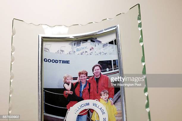 An old family photo in the office of Rachel Levine, MD, physician general for the state of Pennsylvania, in her office in Harrisburg, PA, on May 17,...