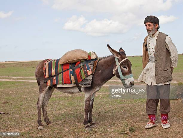 An old man from Azerbaijan