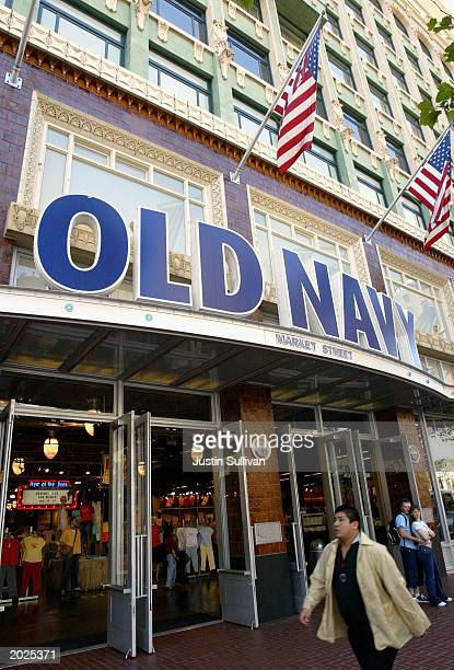 e40b50bf351 Gap Inc. Profits Continue To Rise. An Old Navy store is shown May 23 2003  in San Francisco For the third consecutive