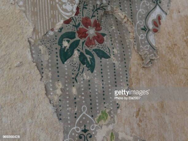 An old piece of wallpaper from the Wilhelminian era