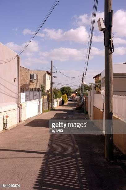 an old quarter in ashqelon, southern district - アシュケロン ストックフォトと画像