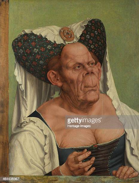 An Old Woman c 1513 Found in the collection of the National Gallery London